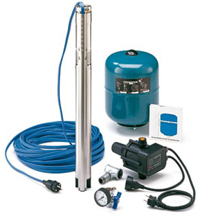well water pump system